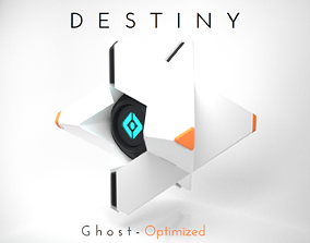 3D printable model Destiny Ghost - Fast print - Snap