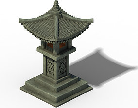 Architecture - Windland Prairie - Stone Lamp 01 3D model