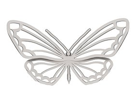 3dprinting Butterfly 3D printable model
