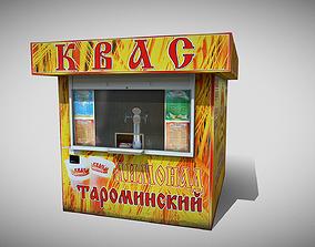 3D asset Kvass Shop