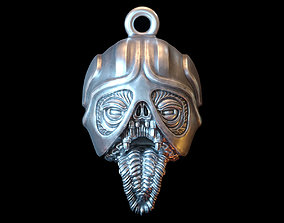 3D printable model Iron head Pendant