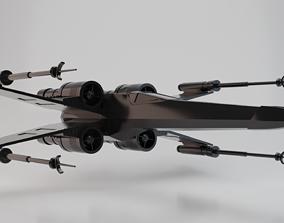 3D asset Star Wars X-Wing Starfighter