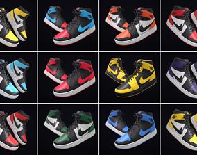 3D Sneakers Nike Air Jordan - Exclusive Colors
