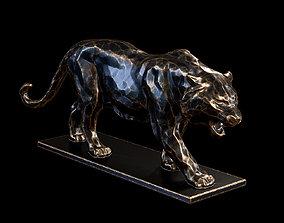 3D printable model Tiger statuette