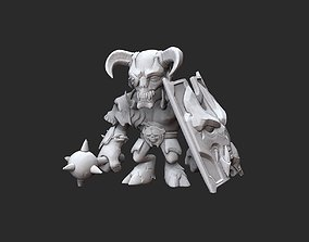 Gladiator Doom Collectable Toy 3D Model STL File