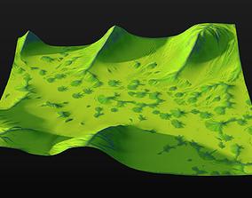 Highlands 2 3D model highland