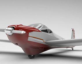 Scheibe Falke SF-25 Aircraft 3D model