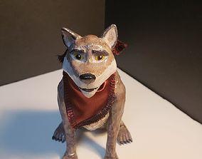 Balto Sculpture 3D print model