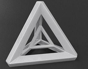 3D printable model Tetra Prism