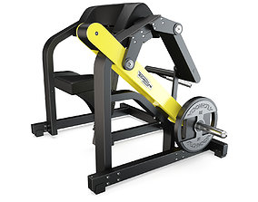 Technogym - Plate Loaded - Biceps 3D model