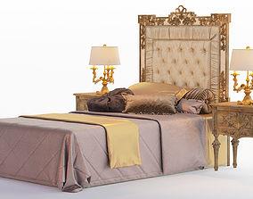 Bed Roberto Giovannini 3D pedestal