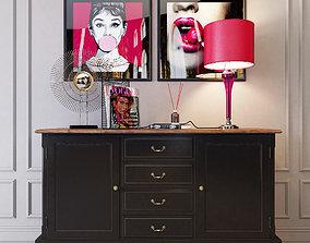 3D model Dresser Leontina