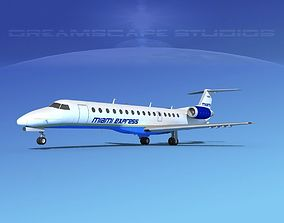 Embraer ERJ-140 Miami Express 3D