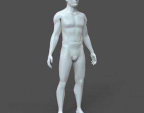 CAD-friendly Male Model M2P1D0V1 3D
