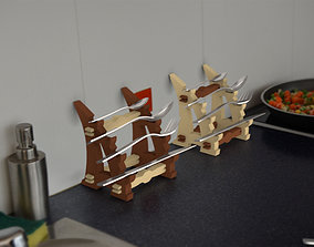 3D printable model Flatware Stand Katana Style