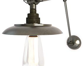 Industrial Wall Lamp Reznor 3D