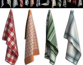 3D model Kitchen Towels - Vol 1
