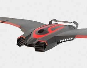 Sci-fi Battle Drone - Spaceship - Scout 3D PBR