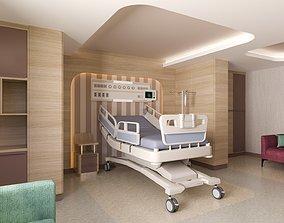 3D model Hospital Room hospitalroom