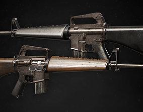 3D M16A1