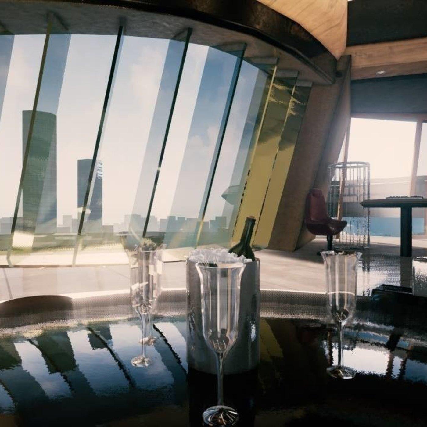 Stark Tower - The Avengers Fan Art