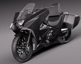 2018 3D model Honda NM4 Vultus 2014