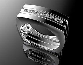brilliant Man ring 3D printable model