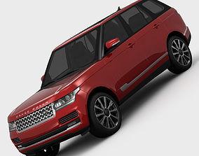 3D model Range Rover Supercharged L405 2013