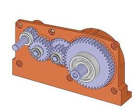 13 6 Gearbox 3D model