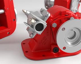 Parker Chelsea PTO Power Total Output gearbox 3D