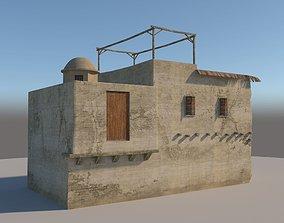 3D model village Old House