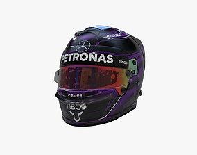 3D asset Hamilton helmet 2020