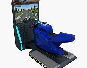 3D model Moto Arcade Machine