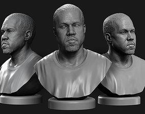 Kanye West 3D print model