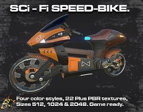 3D model SCI-Fi Speed-Bike