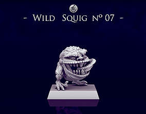 3D print model Wild Orc Squigs -n07 to n09- 28mm 1