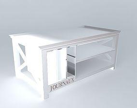 Coffee table Newport Maisons du monde 3D