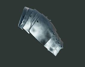 3D model Medieval armor parts 002 - shoulder