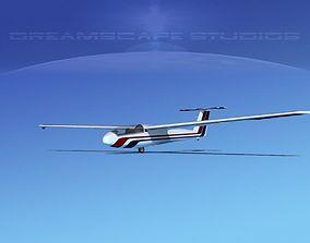 aircraft Letov Superblanik 3D rigged