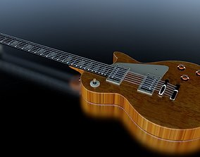 3D model Guitare gibson les pauls