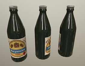 3D asset Soviet Beer