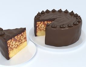 Snickers Cake 3D