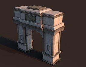 3D model Rome arch
