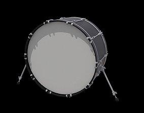 Bass Drum 3D model