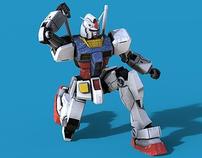 Gundam RX-78 3D model