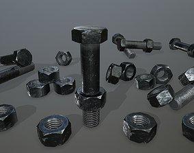 3D asset Bolts