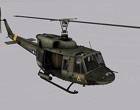 3D model Bell UH-1N Twin Huey