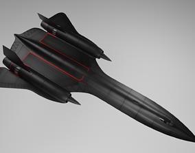 SR-71X 3D asset