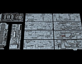 3D model Spacecraft Sheathing and Structure Part III