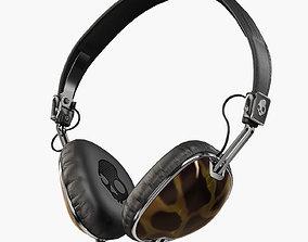 3D model Skullcandy Navigator Tortoise headphones